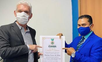 Título de Cidadão Cuiabano - Antônio Lopes Da Silva