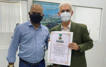 Título Cidadão Cuiabano - Agmar Divino Lara De Siqueira