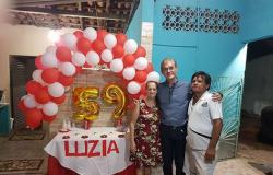 #Deontem, estive comemorando o aniversário da Srª Luzia, esposa do meu amigo Nervan. Felicidades!!