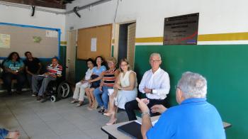 Reunião com o Conselho Gestor do Centro de Saúde do Bairro Novo Terceiro