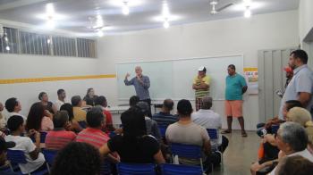 Reunião com os moradores dos Bairros Praeiro e Praerinho