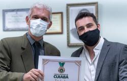 Título de Cidadão Cuiabano ao Ilustríssimo - Rafael Barros De Andrade