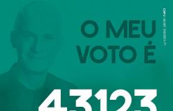 Vote 43123 Professor Mário Nadaf, o trabalho continua!