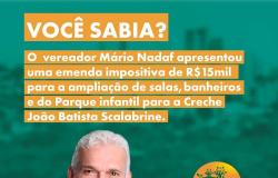 Emenda Impositiva - Creche João Batista Scalabrine