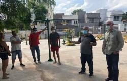 Mutirão de limpeza - Bairro Village Flamboyant