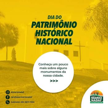 Dia do Patrimônio Histórico Histórico