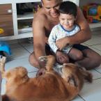 """hauahuahauhauhauahhauhauahuahuahauhuQuado o """"pet"""" é o primeiro bebê da casa"""