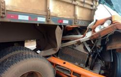 Acidente envolvendo cinco veículos deixa um morto em MT