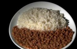Cada morador da Grande Cuiabá consome 78 kg de arroz e feijão por ano em média, diz pesquisa