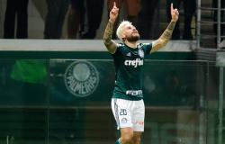 Lucas Lima faz golaços, Palmeiras vence Botafogo e Felipão segue invicto