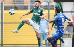 Palmeiras revê Cruzeiro com vitória e toma ponta do Brasileiro