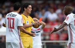 Toró é expulso, e São Paulo fica no 0 a 0 com o Bahia no Morumbi