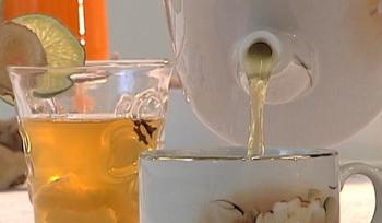 Chá de gengibre — Foto: Reprodução / TV Tem