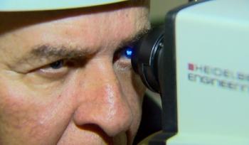 Degeneração Macular Relacionada à Idade (DMRI) é uma das três principais causas de cegueira no mundo e no Brasil — Foto: Carlos Trinca/EPTV