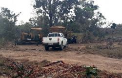 Homem é detido e maquinário apreendido durante operação que flagrou desmatamento em MT