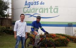 Concessionárias disponibilizam bicicletas para leituristas atuarem nos municípios atendidos pela Aegea MT