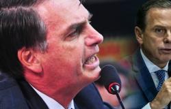 """A bronca de Bolsonaro em Dória: """"Não tem altura para criticar o governo federal!"""""""