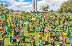 Brasília registra novo protesto contra Rodrigo Maia