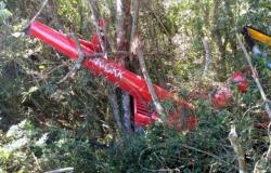 Helicóptero carregado de drogas cai em SP