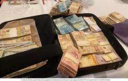 Operação apreende mala de dinheiro de propina na gestão do PT no governo do DF