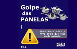"""Polícia Militar de Mato Grosso alerta população sobre """"golpe das panelas"""""""