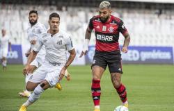 Santos tem dois gols anulados pelo VAR e perde do Flamengo na Vila Belmiro