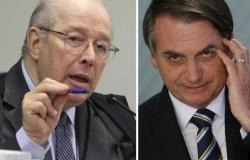 Celso de Mello determina depoimento presencial de Bolsonaro à PF
