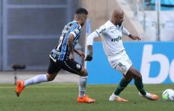 Palmeiras fica no empate com o Grêmio e perde chance de encostar na liderança