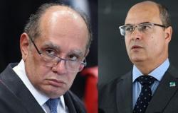 Witzel quer que Gilmar analise pedido para voltar ao cargo de governador do RJ