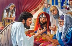 Jesus censura os fariseus e os escribas Mt.23:1 e Lc 11,37-41