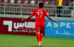 Emprestado pelo Verdão, Dudu marca em vitória do Al Duhail no Catar