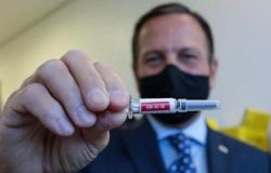 Doria: 6 milhões de doses da vacina chinesa devem chegar até 2ª