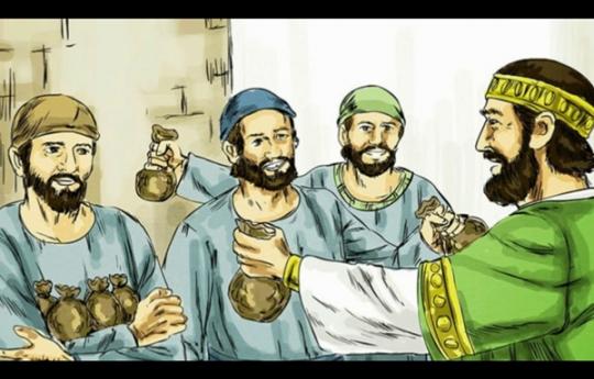 Parábola do mordomo infiel Lc 16,1-8