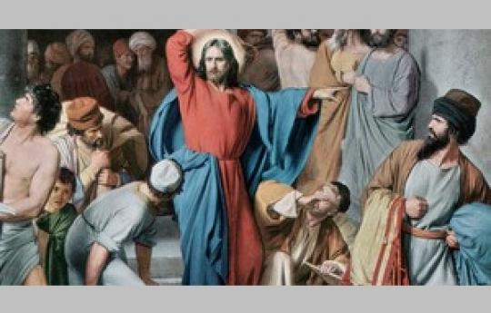 Jesus purifica o templo Mt.21:12 e Jo 2,13-22