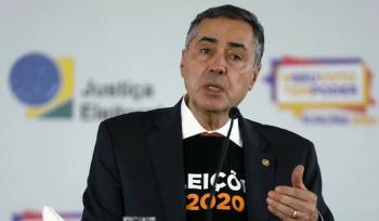 Presidente do TSE, ministro Luís Roberto Barroso Foto:Roberto Jayme/ASCOM/TSE