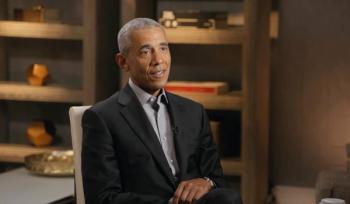 Obama em entrevista ao Conversa com Bial Foto: Reprodução/TV Globo