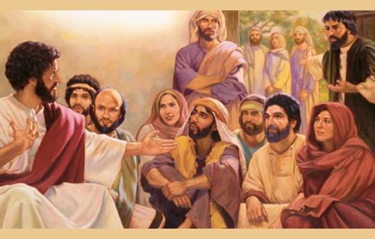 A familía de Jesus Mc.3.31-35 Lc.8.19-21e Mt 12,46-50