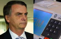 'Ninguém acredita nesse voto eletrônico', diz Bolsonaro
