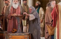 A pequena oferta da viúva pobre Mt.21:41e Lc 21,1-4