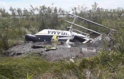 Helicóptero do Ibama cai no Pantanal e piloto morre
