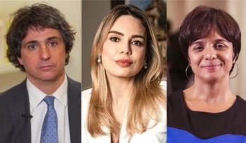 Lista inclui nomes como Guga Chacra, Rachel Sheherazade e Vera Magalhães Foto: Reprodução