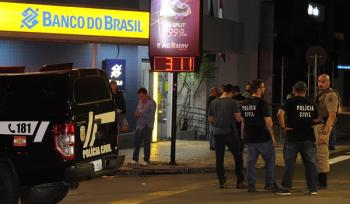 Criciúma foi alvo de roubo a banco ainda na madrugada de terça-feira Foto: Agência Estadão/Caio Marcelo