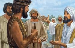 João envia dois discípulos seus a Jesus Mt.11:1-19 e Lc 7,19-23
