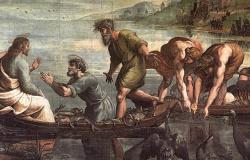 Vocação dos primeiros apóstolos Mt.4:12-25 e Mc 1,14-20
