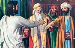 A cura do homem que tinha uma das mãos mirrada Mt.12:9-21 e Mc 3,1-6