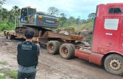 Maquinário e 3 mil litros de óleo são apreendidos em área de desmatamento ilegal em MT