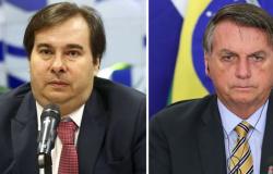 Bolsonaro repudia Rodrigo Maia: 'O Congresso quer trabalhar, mas estava refém de uma pessoa'