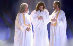A transfiguração Mt.17:1-13 e Mc 9,2-10