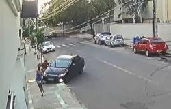 Após roubo, ladrão é atropelado por namorado de vítima