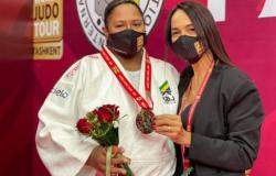 Judoca cai para campeã mundial na final da categoria acima de 78 kg
